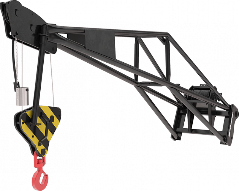 Manitou Extension Jib with winch